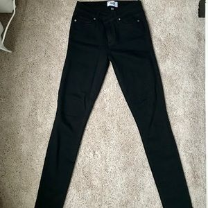 Black Jeggings (size equiv. to a 6-8)